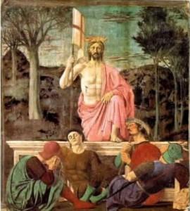 Cristo risorto Piero della Francesca